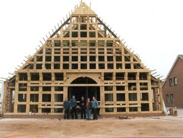 Wir bauen ihr fachwerkhaus for Fachwerk vechta